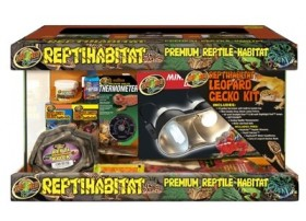 ReptiHabitat kit Gecko 51x25x30cm Zoomed