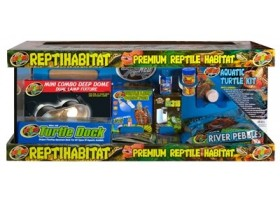 ZOOMED Reptihabitat kit tortues aquatiques 76x30x30cm