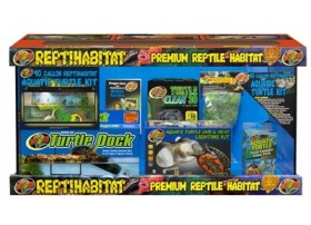 ZOOMED Reptihabitat kit tortues aquatiques 91x46x46cm