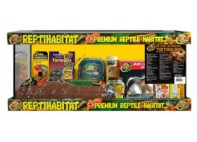 ZOOMED Reptihabitat kit tortues terrestres 76x30x30cm