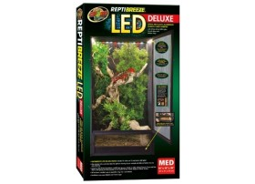 ZOOMED Terrarium reptibreeze led deluxe med