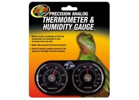 ZOOMED Thermomètre + hygromètre analogique