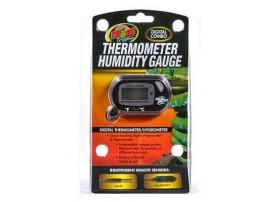 ZOOMED Thermomètre hygromètre digital combo gauge