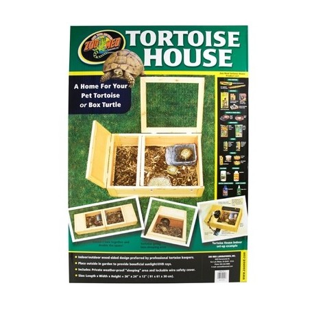 ZOOMED Tortoise house 91x61x30.5 cm