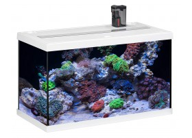 Aquarium AQUASTAR 63 marin - Blanc 63L