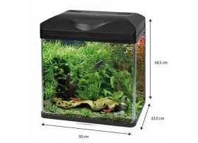Aquarium équipé LAGUNA LED 30 - noir 16L