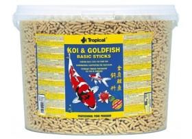 TROPICAL Koi et goldfish basic sticks 11 litres