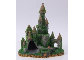 CASTLE WITH MOSSY 200x120x225mm