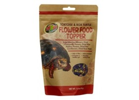 FLOWER FOOD TOPPER 40grs tortues terrestres