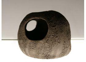 Caverne Céramique Noire XL (15cm)