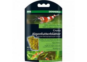 DENNERLE Nano Nourriture aux algues 40 FEUILLES