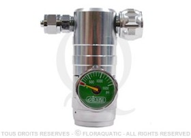 Ista - Régulateur de précision de CO2 avec manomètre
