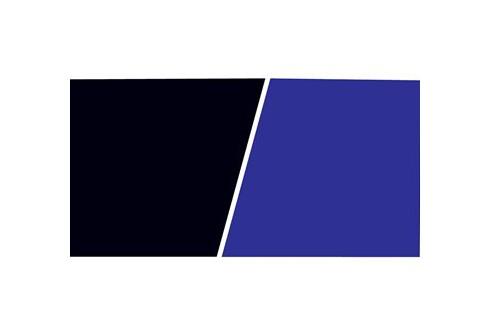 Fond décor double face ClearView Marina noir/bleu