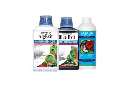 Pack Easy Life 500ml : AlgExit + Blue Exit + Filtre liquide