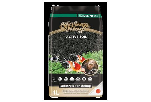 DENNERLE Shrimp king Active Soil brown 8L