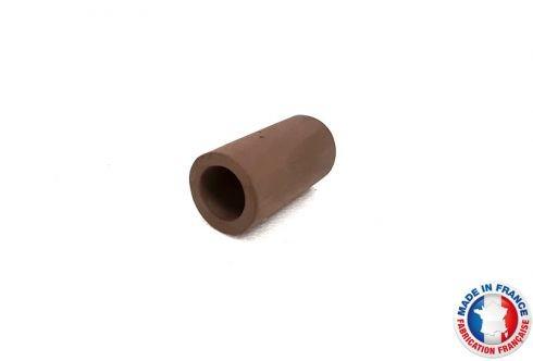Abris Céramique Noir Cylindrique Simple M (6cm)