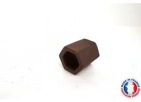 Abris Céramique Noir Hexagonal Simple S (3cm)