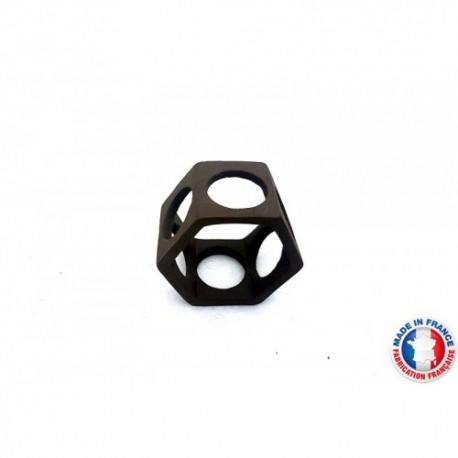 Abris Céramique Noir Hexagonal 6 trous S (3cm)