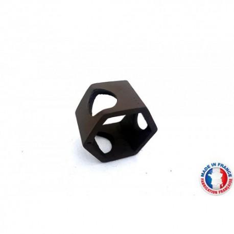 Abris Céramique Noir Hexagonal 3 trous S (3cm)