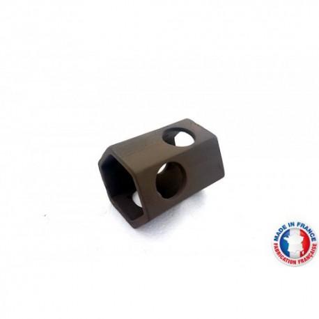 Abris Céramique Noir Hexagonal 6 trous M (6cm)