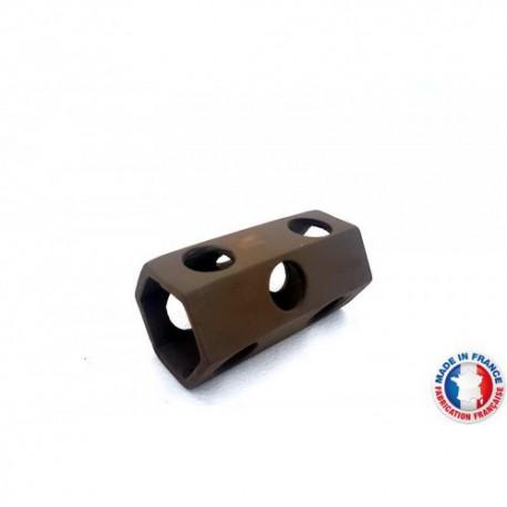 Abris Céramique Noir Hexagonal 9 trous L (10cm)