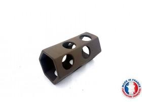 Abris Céramique Noir Hexagonal 12 trous L (10cm)