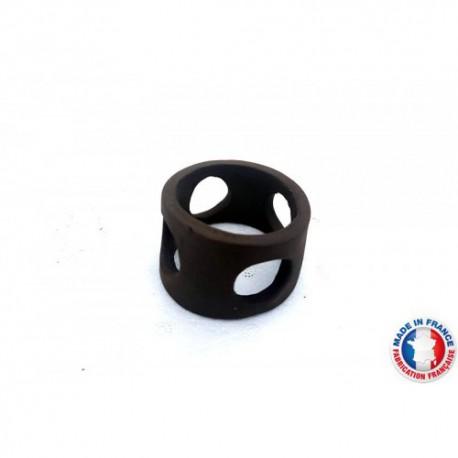 Abris Céramique Noir Rond 4 trous S (3cm)
