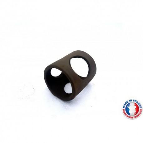 Abris Céramique Noir Rond 3 trous M (6cm)