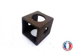 Abris Céramique Cube 4 trous M (6cm)