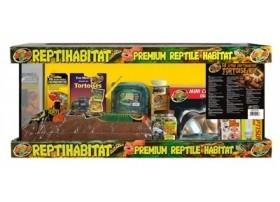 Habitat pour tortues et reptiles