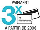 paiement en 3x sans frais à partir de 200 € sur floraquatic.com